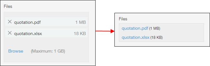 Multiple file example
